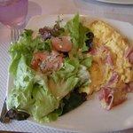 Omelet plate
