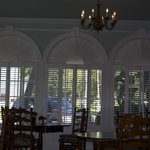 Lovely windows in dining room