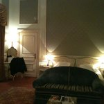 Classic lakefront room in palace
