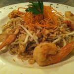 Chicken and Shrimp Pad Thai