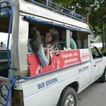Cheap Transport to night Market in Krabi town