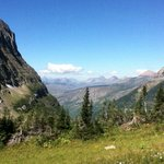 Logan Pass -- Highline trail