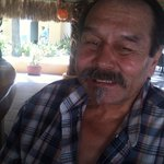 A very happy guest, Palapa Bar