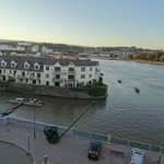 View from room 406 - River Suir