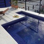 Private Rooftop plunge pool