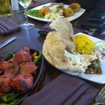 Superb Indian and English food at The Farmhouse,Coventry