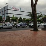 The Spring Shopping Mall opposite the Hotel