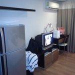 fridge & tv