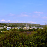 View of Clifden from the Bishop's Bench