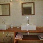 la salle de bain d'Ulyssia