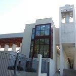 Vista del edificio de la Cámara Oscura de Capuchinos. Jaén.