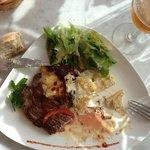 Boeuf et gratin de pommes de terre