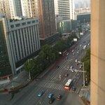 facing the street