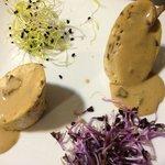 Émincé de volaille sauce aux truffes