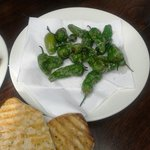 Green sweet chillies