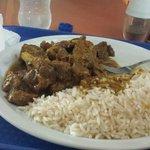 Curry Goat.  Wonderful.