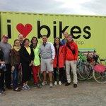 Bike tour with Sarah
