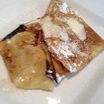 Norwegian pancakes (bite already taken)
