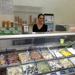 One look and you can see this is authentic gelato!!