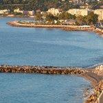 Roquebrune/Cap Martin vu de la chambre
