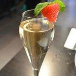 Belle coupe de champagne