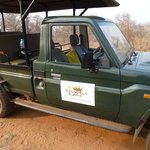 Comfortable and spacious 4 wheel drive vehicle for the game drives