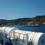l'entrata eel porto