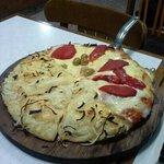 Pizza doble