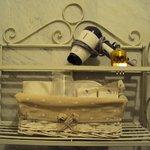 secador e kit banho