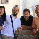 Gayle, Manuele & the men behind Il Loggiato
