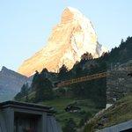 View of Matterhorn from room