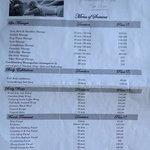 spa menu page 1