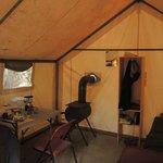 Tuolumne Meadows Tent Cabin