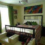 Notre chambre pendant notre séjour