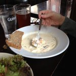 Arthur's amazing Seafood Chowder (only $6 EU) on Aug. 28, 2013 - but we were told that the recip