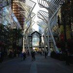 Stephen Ave Walk - Trees Metal Sculpture