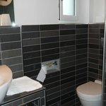 Modern bathroom at hotelmärchen