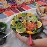 Déjeuner en plein désert