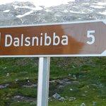 L'hotel est juste au pied de la route de Dalsnibba
