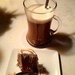Mini-B (Baked Alaska) with tableside-prepared Irish Coffee