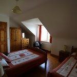 Room, ensuite behind the closed door