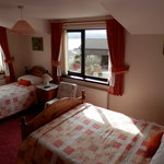 Twin/Family En suite Room with views of Beach