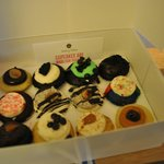 Cupcakes in room on arrival