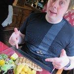 Husband and food.....