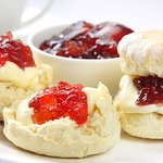 Chandlers yummy cream tea!