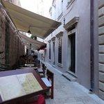 Pizza & Spagetteria Storia restaurant, Old Town Dubrovnik