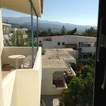 Vue de côté depuis le balcon