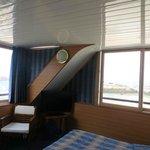 vue panoramique de la chambre