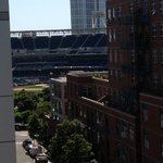 View from our room of Petco Stadium