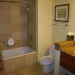 Bathroom in one bedroom unit